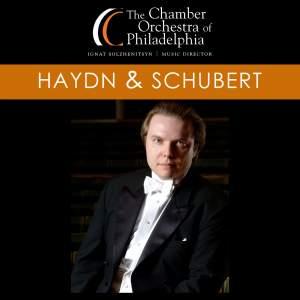 """HAYDN, J.: Symphony No. 100 / SCHUBERT, F.: Symphony No. 9, """"Great"""" (Chamber Orchestra of Philadelphia, Solzhenitsyn)"""