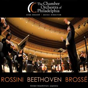 BEETHOVEN, L. van: Symphony No. 8 / ROSSINI, G.: L'Italiana in Algeri: Overture (Chamber Orchestra of Philadelphia, Brossé)