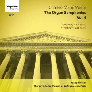 Widor: The Complete Organ Symphonies Volume 4
