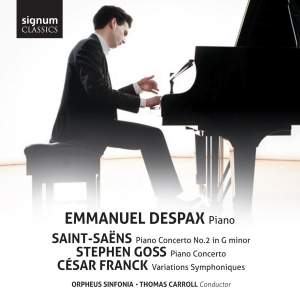 Emmanuel Despax plays Saint-Saëns, Franck & Goss