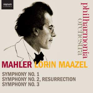 Mahler: Symphonies Nos. 1-3 Product Image
