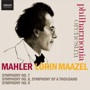 Mahler: Symphonies Nos. 7-9 Product Image