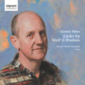 Alastair Miles: Lieder by Wolf & Brahms Product Image