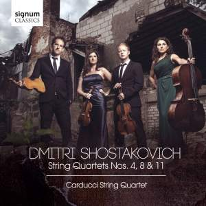 Shostakovich: String Quartets Nos. 4, 8 & 11 Product Image