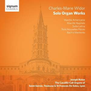 Widor: Solo Organ Works