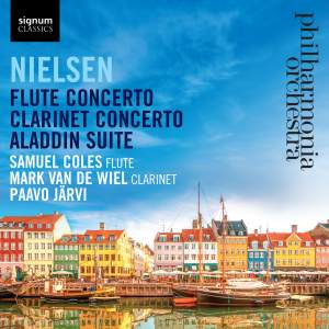 Nielsen: Flute & Clarinet Concertos Product Image