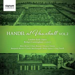 Handel at Vauxhall Vol. 2 Product Image