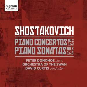 Shostakovich: Piano Concertos & Sonatas Product Image