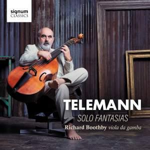 Telemann: Fantasias (12) for Viola da Gamba, TWV 40:26-37 Product Image