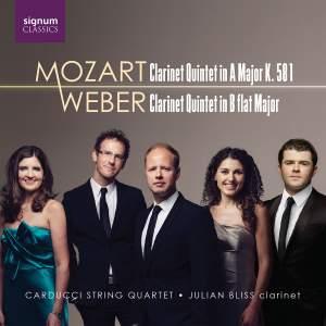 Mozart & Weber: Clarinet Quintets Product Image