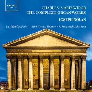 Widor: The Complete Organ Works Product Image