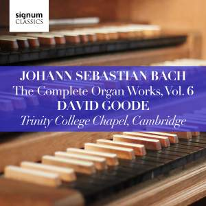 Johann Sebastian Bach: The Complete Organ Works Vol. 6 Product Image