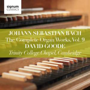 JS Bach: The Complete Organ Works Vol. 9