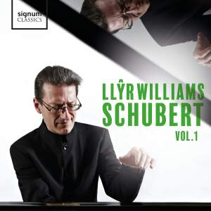 Llŷr Williams: Schubert, Vol. 1 Product Image