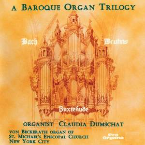 A Baroque Organ Trilogy Product Image