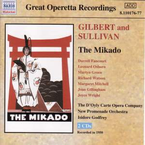 Sullivan, A: The Mikado Product Image