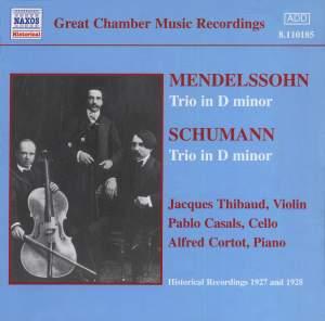 Mendelssohn & Schumann: Piano Trios