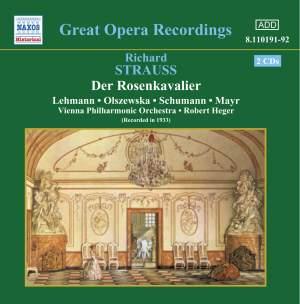 Strauss, R: Der Rosenkavalier Product Image