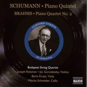 Schumann: Piano Quintet & Brahms: Piano Quartet No. 2 Product Image