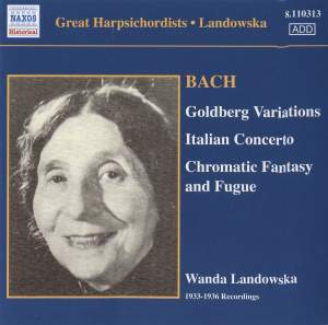 Great Harpsichordists - Landowska Product Image