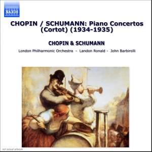 Schumann: Piano Concerto & Chopin: Piano Concerto No. 2