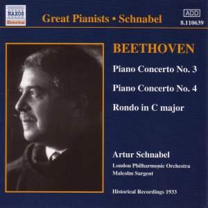 Beethoven: Piano Concerto No. 3 in C minor, Op. 37, etc. Product Image