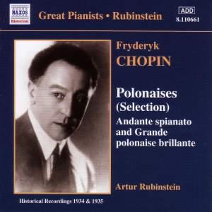 Chopin: Polonaises (selection), Andante spianato & Grande polonaise brilliante Product Image