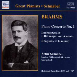 Brahms: Piano Concerto No. 1, 2 Intermezzi, Rhapsody in G minor Product Image