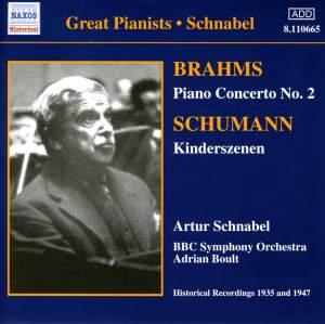 Schumann: Kinderszenen & Brahms: Piano Concerto No. 2 Product Image