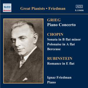 Great Pianists - Ignaz Friedman Product Image