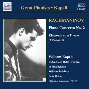 Great Pianists - Kapell Product Image