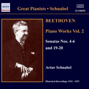 Great Pianists - Schnabel, volume 2 Product Image