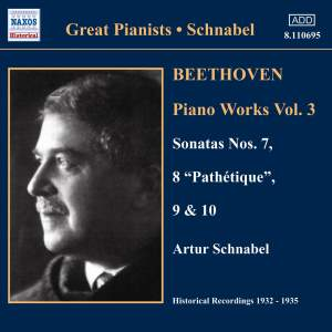 Great Pianists - Schnabel, volume 3 Product Image