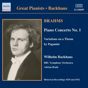 Great Pianists - Wilhelm Backhaus