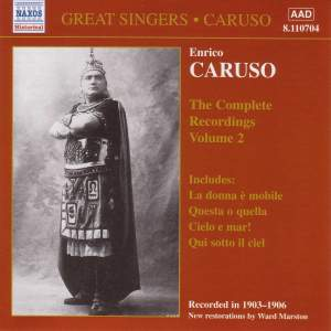 Enrico Caruso - Complete Recordings, Vol. 2 Product Image