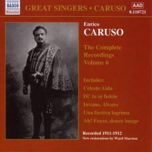 Enrico Caruso - Complete Recordings, Vol. 6