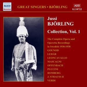 Jussi Björling Collection, Vol. 1 Product Image