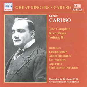 Enrico Caruso - Complete Recordings, Vol. 8