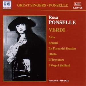 Rosa Ponselle sings Verdi (1918-1928)