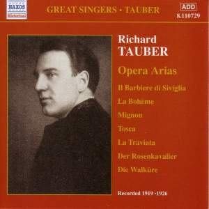 Richard Tauber - Opera Arias (1919-1926)
