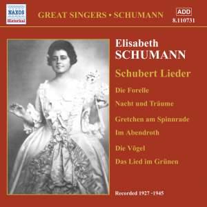 Elisabeth Schumann - Schubert Lieder (1927-1945) Product Image