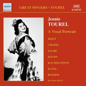 Great Singers - Jennie Tourel Product Image