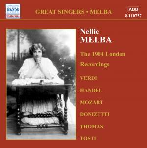 Nellie Melba - London Recordings (1904) Product Image