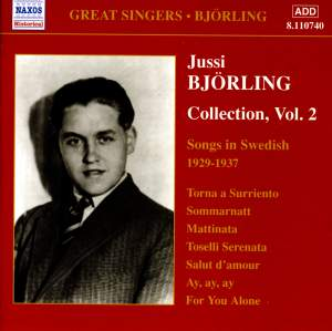 Jussi Björling Collection, Vol. 2 Product Image