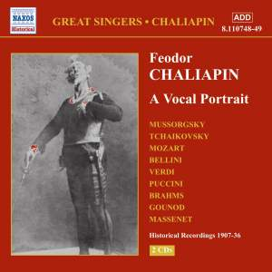 Feodor Chaliapin: A Vocal Portrait Product Image