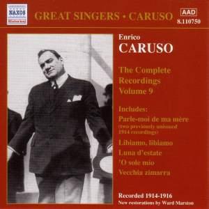 Enrico Caruso - Complete Recordings, Vol. 9