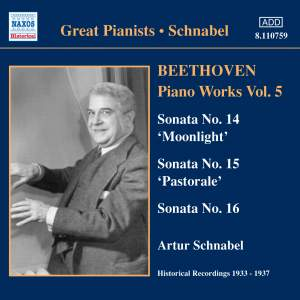 Great Pianists - Schnabel Product Image