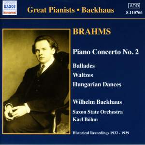 Great Pianists - Backhaus Product Image
