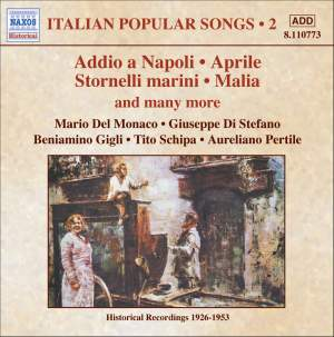 Italian Popular Songs Volume 2 Product Image