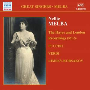 Great Singers - Melba